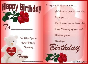 Birthday Card Templates 2